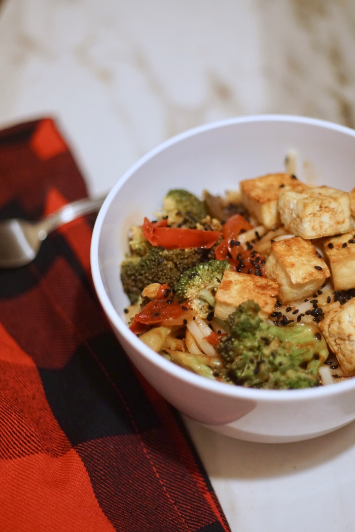 Vegetable Tofu Lo Mein