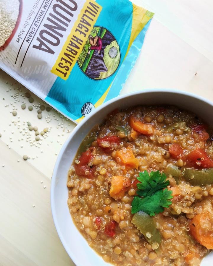 Vegetable Lentil + Quinoa Stew(GF/V)
